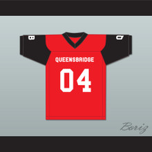 Big Noyd 04 Queensbridge Red Football Jersey Quiet Storm 2001 Source Awards