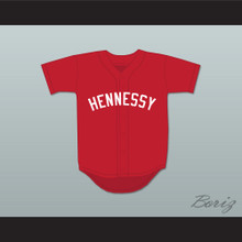 Queensbridge 95 Hennessy Red Baseball Jersey