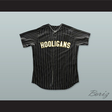 Bruno Mars 24K Hooligans Black Pinstriped Baseball Jersey BET Awards