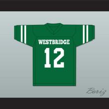 Milo Ventimiglia Letterman 12 Westbridge High School Football Jersey Sabrina the Teenage Witch