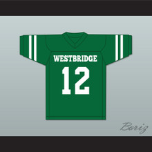 Milo Ventimiglia Letterman 12 Westbridge High School Football Jersey