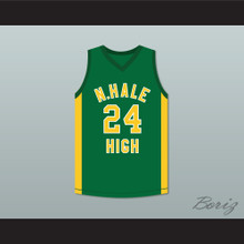 Bruno Mars 24 N. Hale High School Basketball Jersey Young, Wild and Free