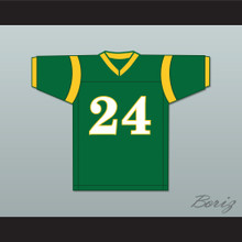 Bruno Mars 24 N. Hale High School Football Jersey Young, Wild and Free