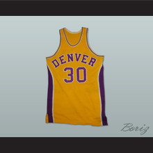 1973-74 Denver Basketball Jersey Home Any Player or Number