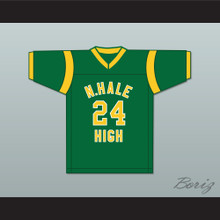 Bruno Mars 24 N. Hale High School Football Jersey