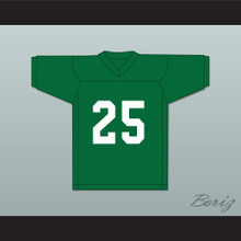 Nate Ruffin 25 Marshall University Green Football Jersey We Are Marshall