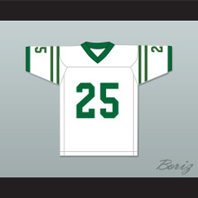 Nate Ruffin 25 Marshall University White Football Jersey We Are Marshall