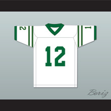 Reggie Oliver 12 Marshall University White Football Jersey We Are Marshall