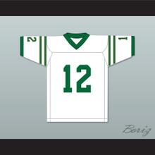 Reggie Oliver 12 Marshall University White Football Jersey We Are Marshall