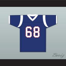Peter Griffin 68 Blue Football Jersey