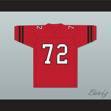 Corey Haim Lucas 72 Park High School Pirates Football Jersey Lucas
