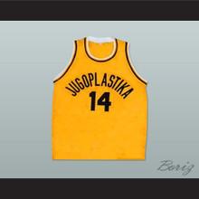 Dino Radja 14 Jugoplastika Basketball Jersey New