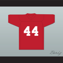 Matt Sabo 44 Red Practice Football Jersey Full Ride
