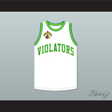 Bill Bellamy 21 Violators Basketball Jersey 5th Annual Rock N' Jock B-Ball Jam 1995