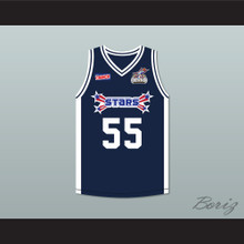 Jason Williams 55 Stars Basketball Jersey Rock N' Jock All Star Jam 2002