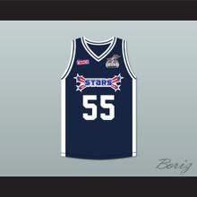 Jason Williams 55 Stars Basketball Jersey Rock N' Jock All Star Jam 2002