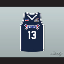 Jay Hernandez 13 Stars Basketball Jersey Rock N' Jock All Star Jam 2002