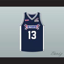 Jay Hernandez 13 Stars Basketball Jersey Rock N' Jock All Star Jam 2002