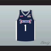 Quddus 1 Stars Basketball Jersey Rock N' Jock All Star Jam 2002