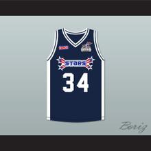 Shaquille 'Shaq' O'Neal 34 Stars Basketball Jersey Rock N' Jock All Star Jam 2002
