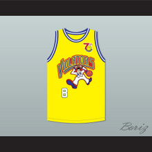 Bill Bellamy 8 Violators Basketball Jersey 7th Annual Rock N' Jock B-Ball Jam 1997