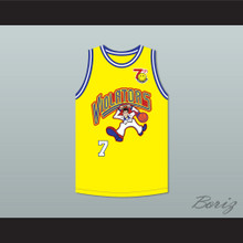 Michelle Timms 7 Violators Basketball Jersey 7th Annual Rock N' Jock B-Ball Jam 1997