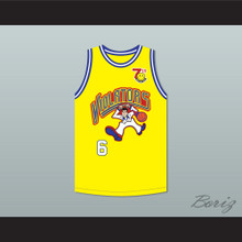 Judd Nelson 6 Violators Basketball Jersey 7th Annual Rock N' Jock B-Ball Jam 1997
