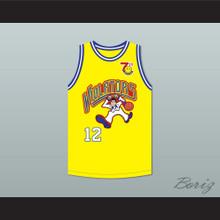 Michael Bergin 12 Violators Basketball Jersey 7th Annual Rock N' Jock B-Ball Jam 1997