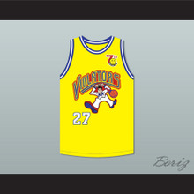 Steve Albert 27 Violators Basketball Jersey 7th Annual Rock N' Jock B-Ball Jam 1997