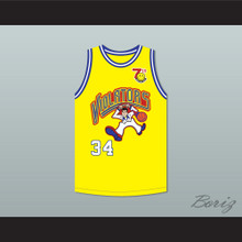 Shaquille 'Shaq' O'Neal 34 Violators Basketball Jersey 7th Annual Rock N' Jock B-Ball Jam 1997