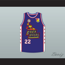 Sheryl Swoopes 22 Bricklayers Basketball Jersey 7th Annual Rock N' Jock B-Ball Jam 1997
