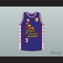 Stephon Marbury 3 Bricklayers Basketball Jersey 7th Annual Rock N' Jock B-Ball Jam 1997