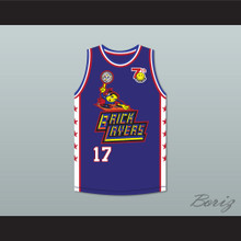 Jerry O'Connell 17 Bricklayers Basketball Jersey 7th Annual Rock N' Jock B-Ball Jam 1997