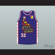 Chris Spencer 32 Bricklayers Basketball Jersey 7th Annual Rock N' Jock B-Ball Jam 1997
