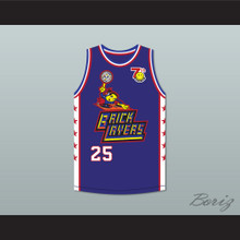 Chris Connelly 25 Bricklayers Basketball Jersey 7th Annual Rock N' Jock B-Ball Jam 1997