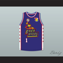 Visa 1 Bricklayers Basketball Jersey 7th Annual Rock N' Jock B-Ball Jam 1997
