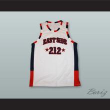 Eastside 212 NYC White Basketball Jersey Stitch Sewn