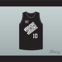 Tiffani-Amber Thiessen 10 Bricklayers Basketball Jersey 3rd Annual Rock N' Jock B-Ball Jam 1993