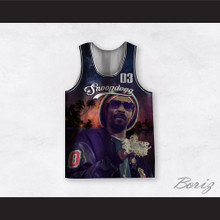 Snoopdogg Doggie Dog 03 California Nights Basketball Jersey