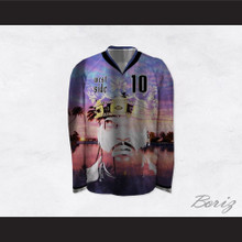Ice Cube 10 Westside King of California Hockey Jersey