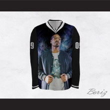 Snoop Dogg 09 Cosmic Night Hockey Jersey
