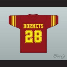 Gabe Santora 28 Herrington Hornets High School Football Jersey The Faculty