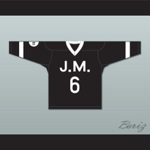 The Notorious B.I.G. 'Poppa' 6 Junior M.A.F.I.A. Black Hockey Jersey
