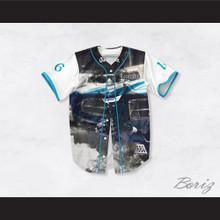 Eazy-E 16 Compton Blue GTO Baseball Jersey