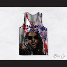 Lil Jon 02 Crunk Ain't Dead America Basketball Jersey