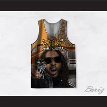 Lil Jon 02 Crunk Ain't Dead Riding Basketball Jersey