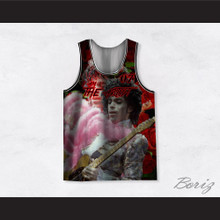 Prince 07 I Am The Artist Roses Basketball Jersey