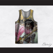 Prince 07 I Am The Artist Guitar Basketball Jersey