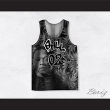 Dr Dre 02 Still Dre Cannabis Gray Basketball Jersey