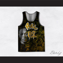 Dr Dre 02 Still Dre Cannabis Yellow Basketball Jersey